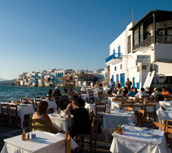 Greece dining experience