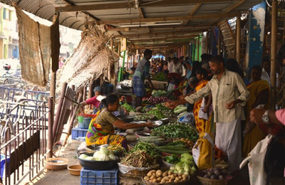 South India Mandurai market