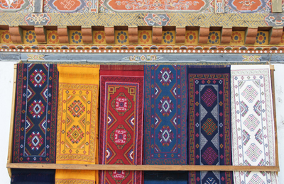 bhutan chumey valley weavings, photo by duptho rinzin 400x260