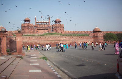 india red fort francine clohosey