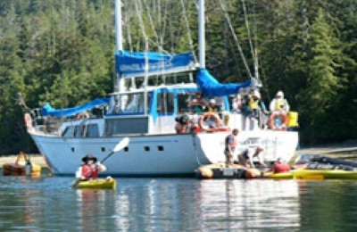 canada great bear rainforest island roamer boat