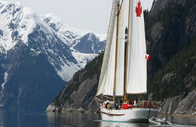 canada great bear rainforest maple leaf schooner
