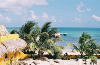 belize caye caulker oceanview