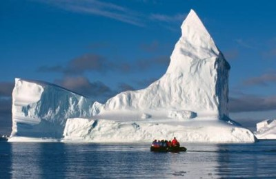 antarctic weddell sea zodia iceberg oceanwide