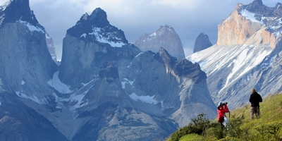chile torres del paine gorgeous view