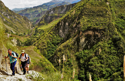 Ecuador Canyon of Toachi, Adventure Journeys