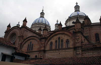 ecuenca cathedral roof